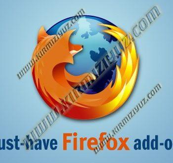 Firefox Eklentileri Adem KIRMIZIYÜZ